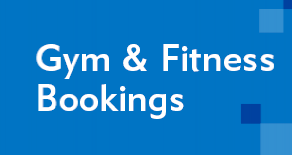 Gym & Fitness Bookings